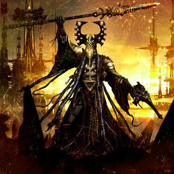 Eldar vidente lanza bruja