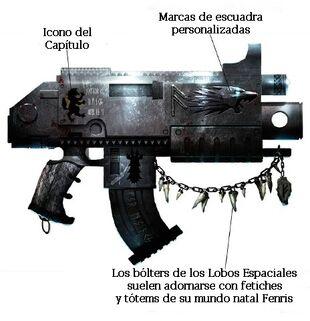 Arma bolter modelo asaheim