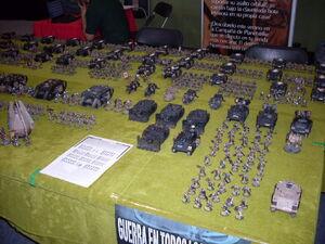 Arcadios del Emperador Games Day España 2009 diorama 4