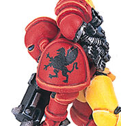 Grifos Aullantes Detalle Hombrera Marines Espaciales Astartes Wikihammer