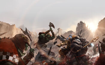 Portada Armageddon Líder de Manada Ekene Dubaku Leones Celestiales Capellán Merek Grimaldus Templarios Negros