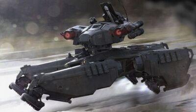 Kampfwagen Blattfeder II