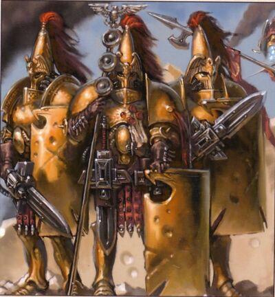 Imperio custodios legionarios