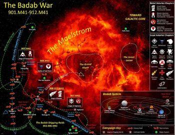 Mapa Badab