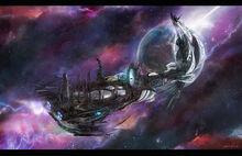 Mundo Astronave Eldar-0
