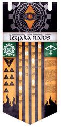 Estandarte Leyaka Rakis Legio Fureans