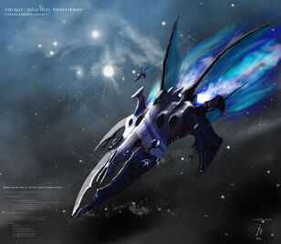 Eldar shrike bomber finished by addinarrlast one for me op general desktop 1500x1307 wallpaper-25656