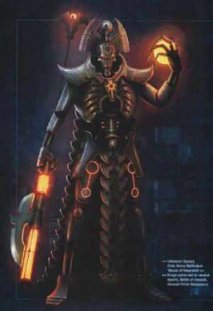 Lider Supremo Necron Dinastia Maynarkh Necrones Wikihammer