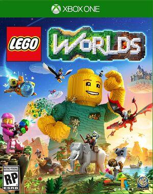 Lego worlds box