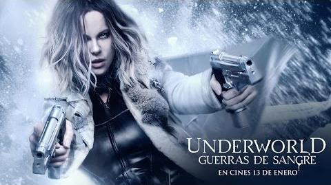 "UNDERWORLD GUERRAS DE SANGRE. ""Blood"" Tráiler HD en español. Ya en cines"