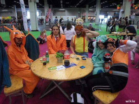 Gamescom 2016 - Cosplay de pokémon