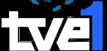 Logo TVE1 (1982-1991) sin rombo