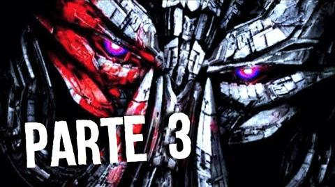 Avances de TRANSFORMERS 5 MEGATRON REGRESA Parte 3
