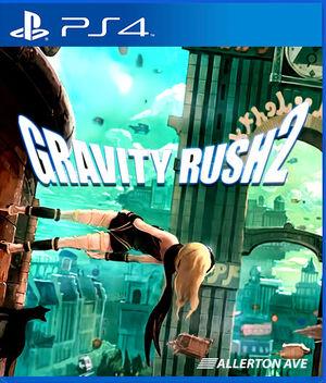 Gravity Rush 2 - cover
