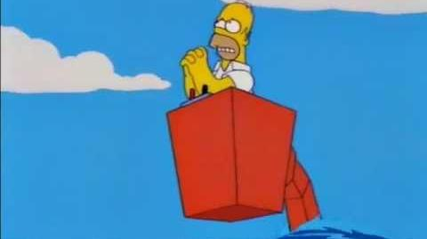 Homer Simpson - Sálvame Superman.-0