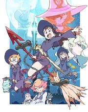 Little Witch Academia TV poster