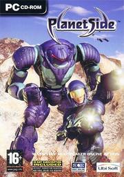 PlanetSide Coverart