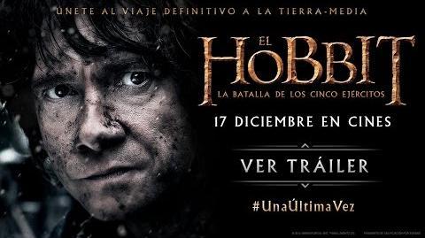 """El Hobbit La Batalla de los Cinco Ejércitos - Spot """"Una Última Vez"""" HD"""