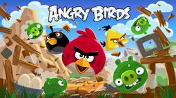 Angry birds spotlight