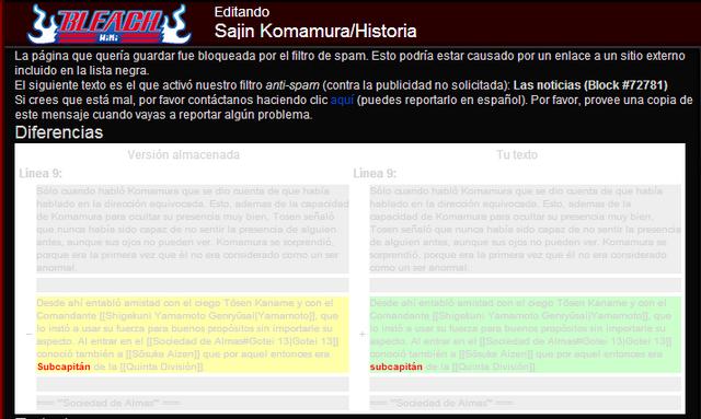 Archivo:Problema al editar en Bleach Wiki.png