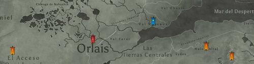 Mapa Dragon Age