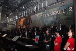 Gamescom 2016 - Stand de Titanfall 2