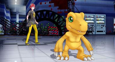 Tour guiado Digimon Slider