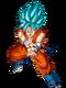Super Saiyajin Azul Artwork