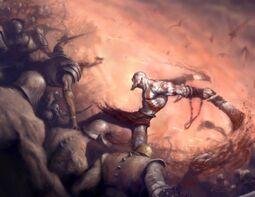 God of war spotlight
