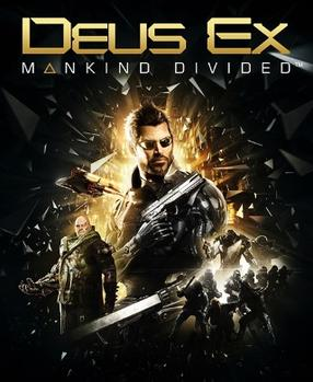 Deus Ex, Mankind Divided Box Art