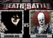 Laughing jack vs pennywise