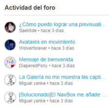 ActividadDelForo