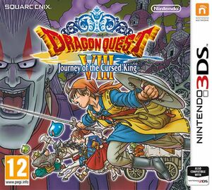 Dragon Quest Cursed King - cover