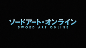 Sword art online logo black by