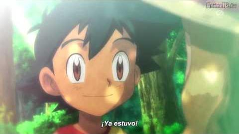 Recuerdo de Ash y Serena cuando eran niños
