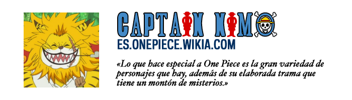 Placa Captain Nimo