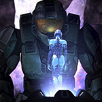 Thumb Master Chief - Cortana