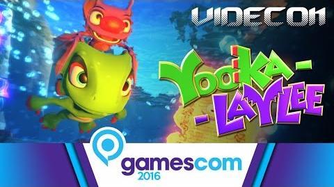 Yooka-Laylee Gameplay Trailer Gamescom 2016 (Español) – PS4, Xbox One, Wii U, PC