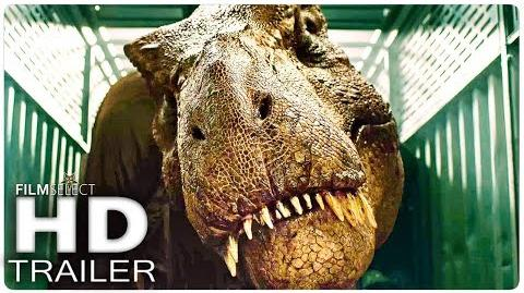 JURASSIC WORLD 2 El Reino Caído Trailer Español (2018)