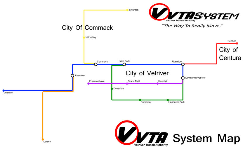 VTA System Map 3-11-18