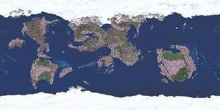 World Map of Eterinin