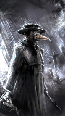 Plague doctor by buechnerstod-d3l1tmg