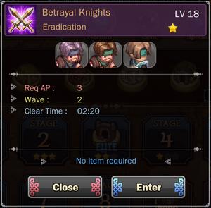 Betrayal Knights 4