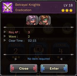 Betrayal Knights 2