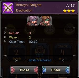 Betrayal Knights 1
