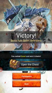 Raid victory