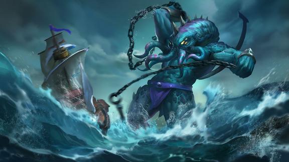 Kraken Splash