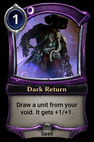 Dark Return card