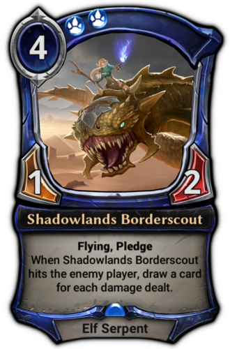 Shadowlands Borderscout card