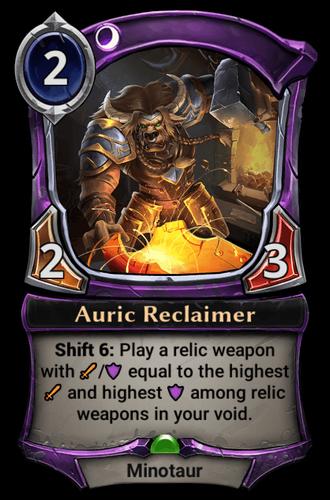 Auric Reclaimer card